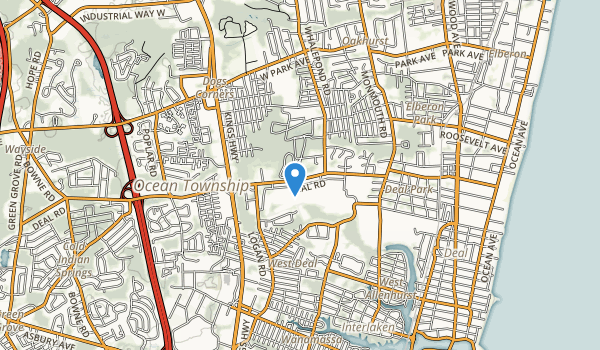 Joe Palaia Park Map