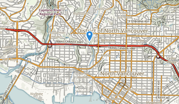 William Griffin Park Map