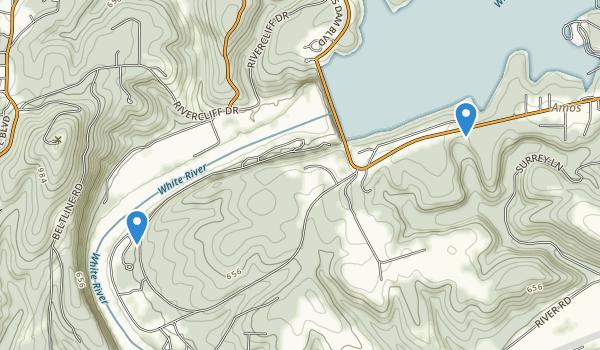 Bull Shoals-White River State Park Map
