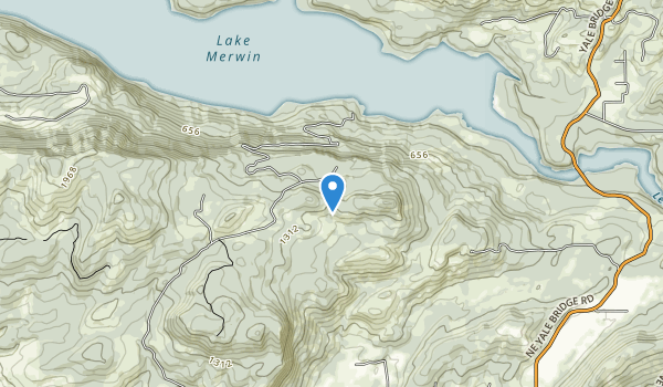 trail locations for Lake Merwin Campers Hideaway