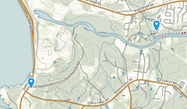 Saluda Shoal Park Map