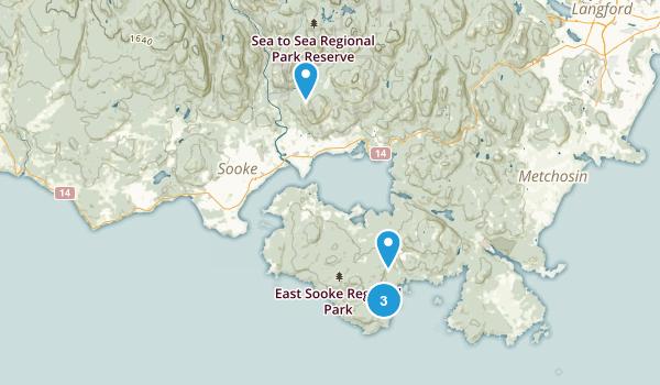 East Sooke Regional Park Map
