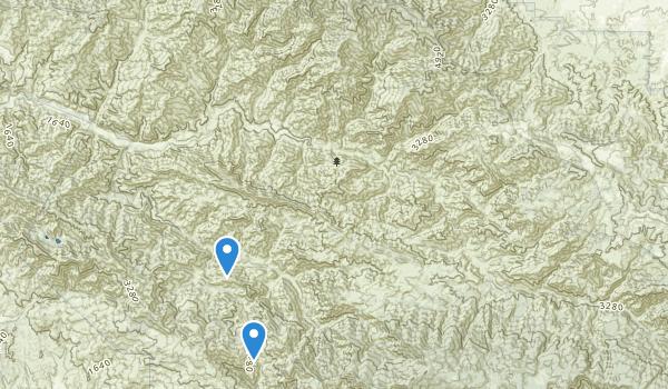 San Rafael Wilderness Map