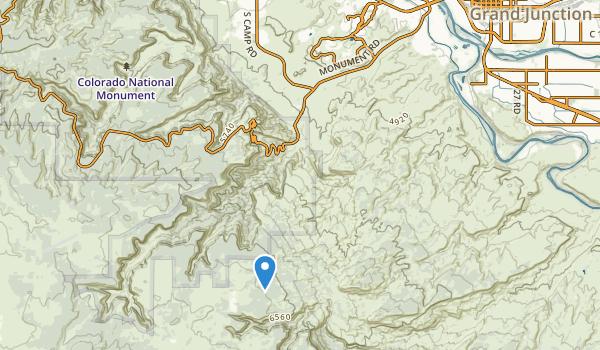 James M Robb Colorado River State Park Map