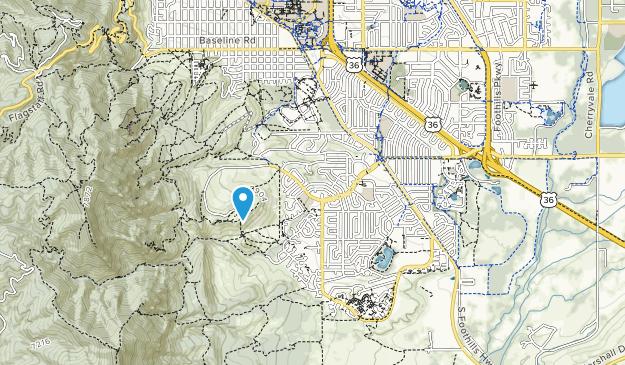 Parque martin Map