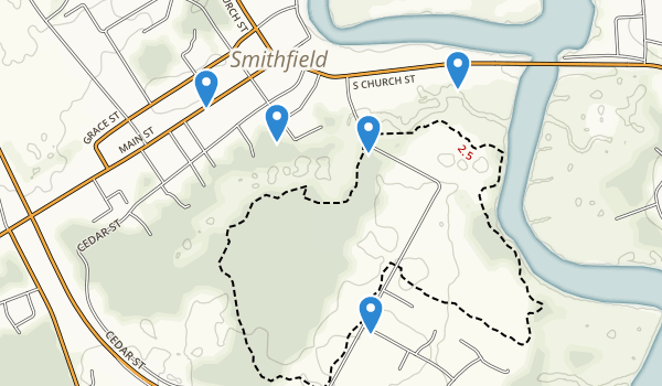 trail locations for Windsor Castle Park