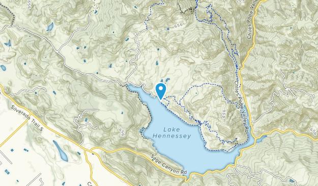 Napa County Regional Park Map