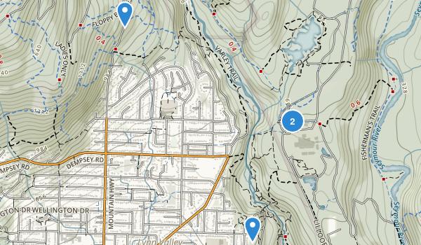 Lynn Canyon Park Map