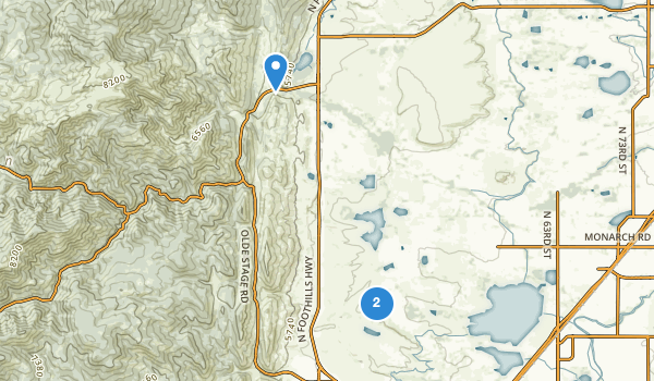 trail locations for Boulder VallEY Ranch