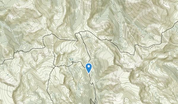trail locations for La Garita Wilderness