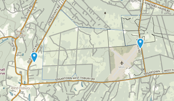 Manuel F Correllus State Forest Map