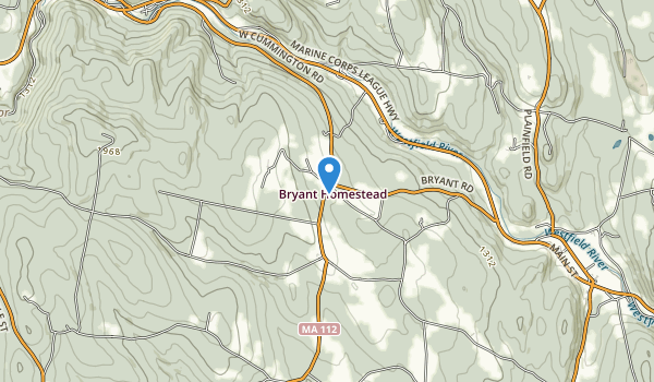 Bryant Mountain State Forest Map