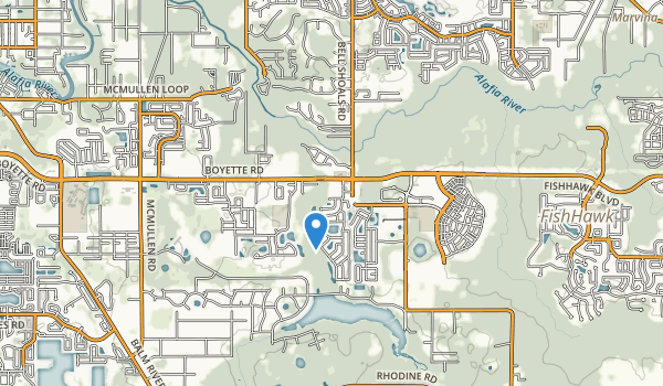 Boyette Springs Park Map