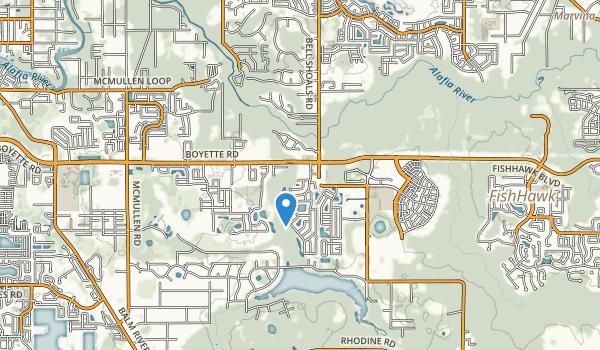 Boyette Springs Park Map