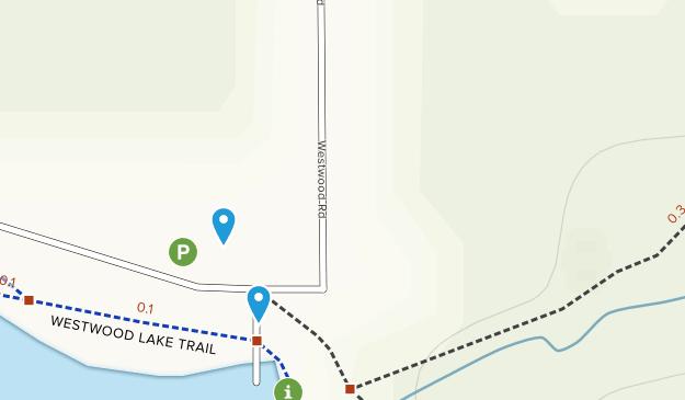 Westwood Lake Park Map