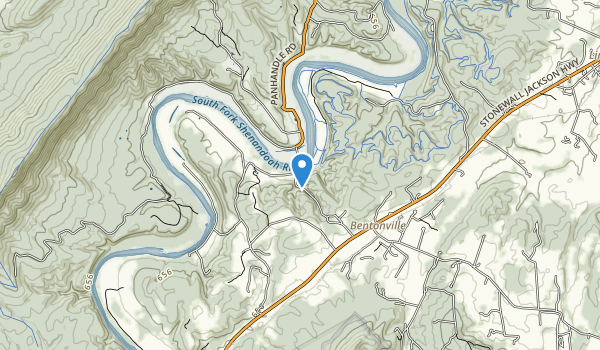 Andy Guest Shenandoah River State Park Map