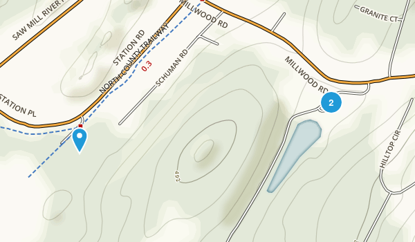 Gedney Park Map