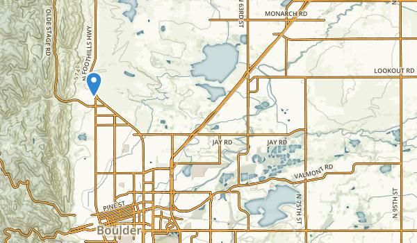 Gunbarrel Ranch Map
