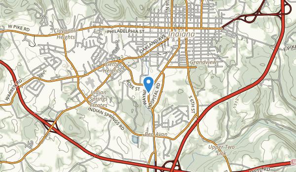 Indiana County Fairground/mack Memorial Park Map