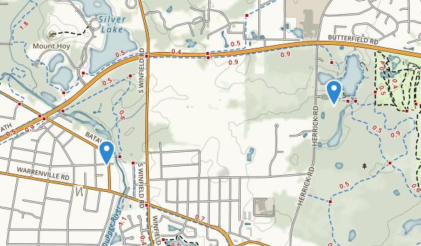 Warrenville Grove Forest Preserve Map