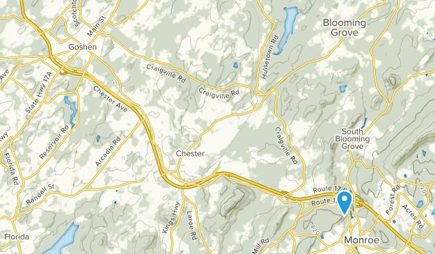 Land O Goshen Park Map