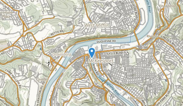 West Mifflin Park Map