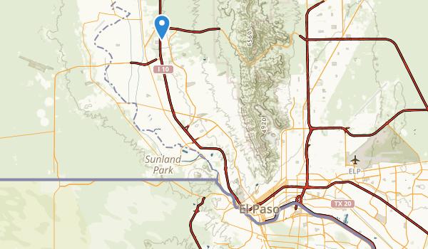 Rim Road Park Map