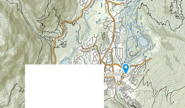 Spruce Grove Park Map