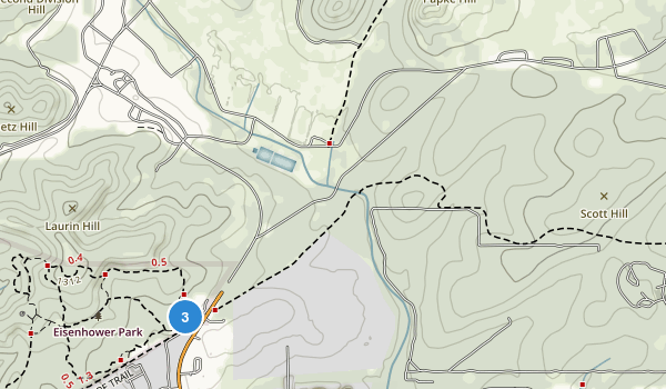 Eisenhower Park Map