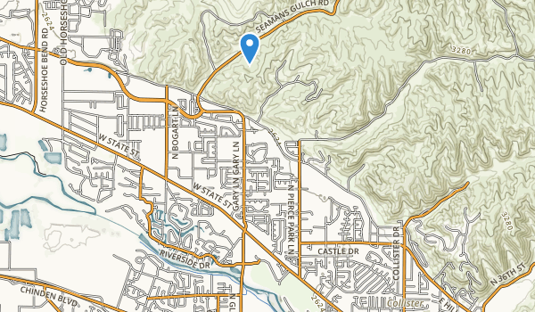 trail locations for Ladybird Park