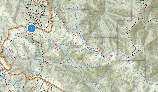Monte Bello Open Space Preserve Map