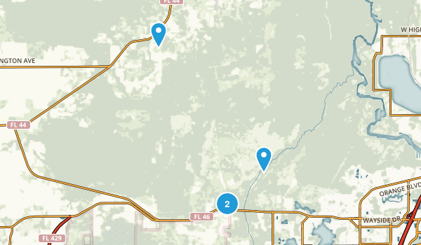 Seminole State Forest Map