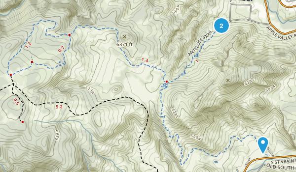 Hall Ranch Map