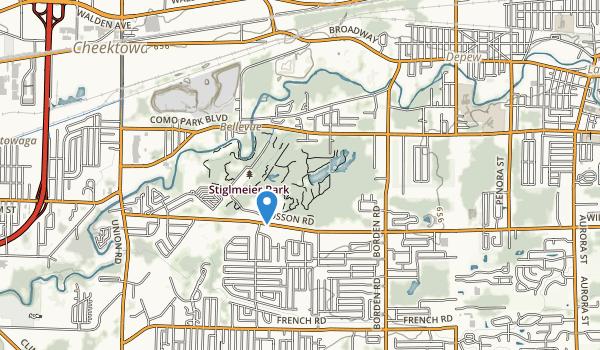 Stiglmeier Park Map