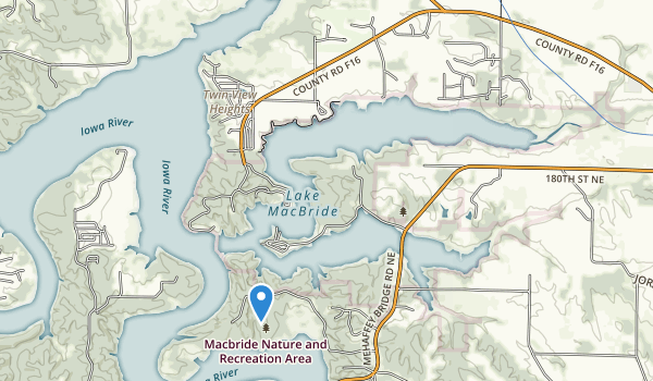trail locations for Lake View Ohv Park