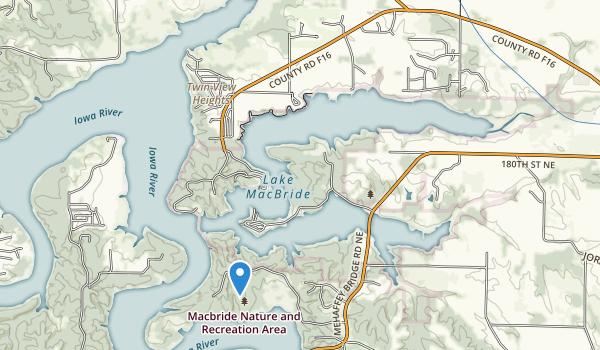 Lake View Ohv Park Map
