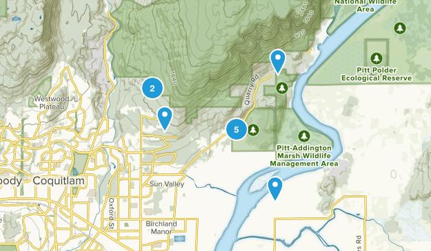 Minnekhada Regional Park Map
