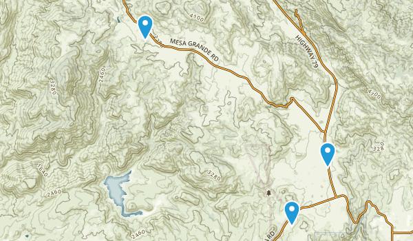 Santa Ysabel Reservation Map