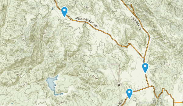 Santa Ysabel Reservation Map