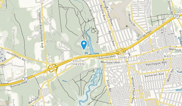 Suffolk County Park Map