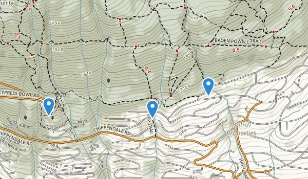 Ballantree Park Map