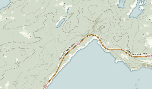 Terra Nova National Park Map