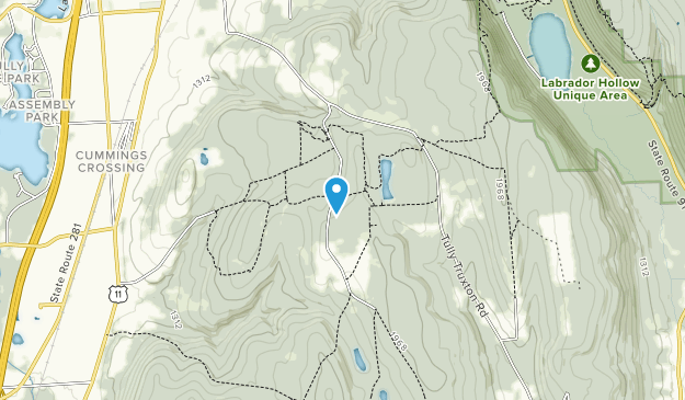 HeIberg Memorial Forest Map