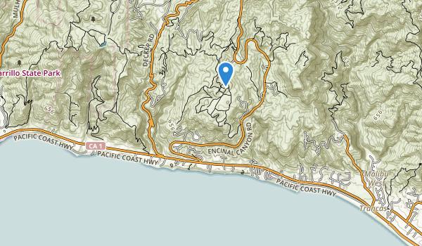 Charmlee County Regional Park Map