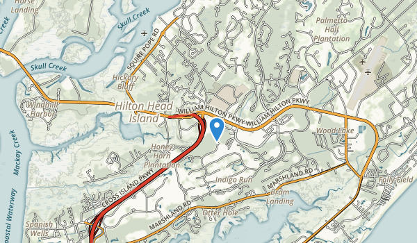 Jarvis Creek Park Map