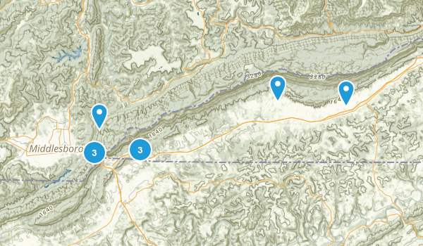 Cumberland Gap National Historic Park Map