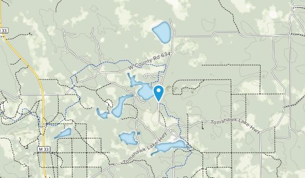 Área Forestal del Estado de Atlanta Map