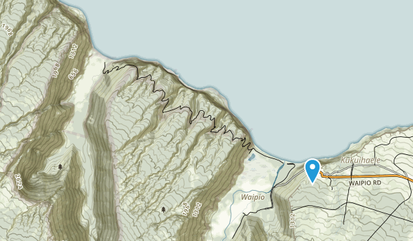 Kohala Forest Reserve Map