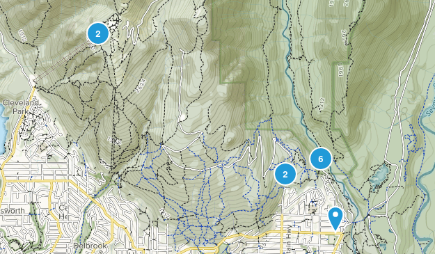 Lynn Headwaters Regional Park Map
