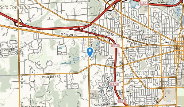 Doph Nature Area Map